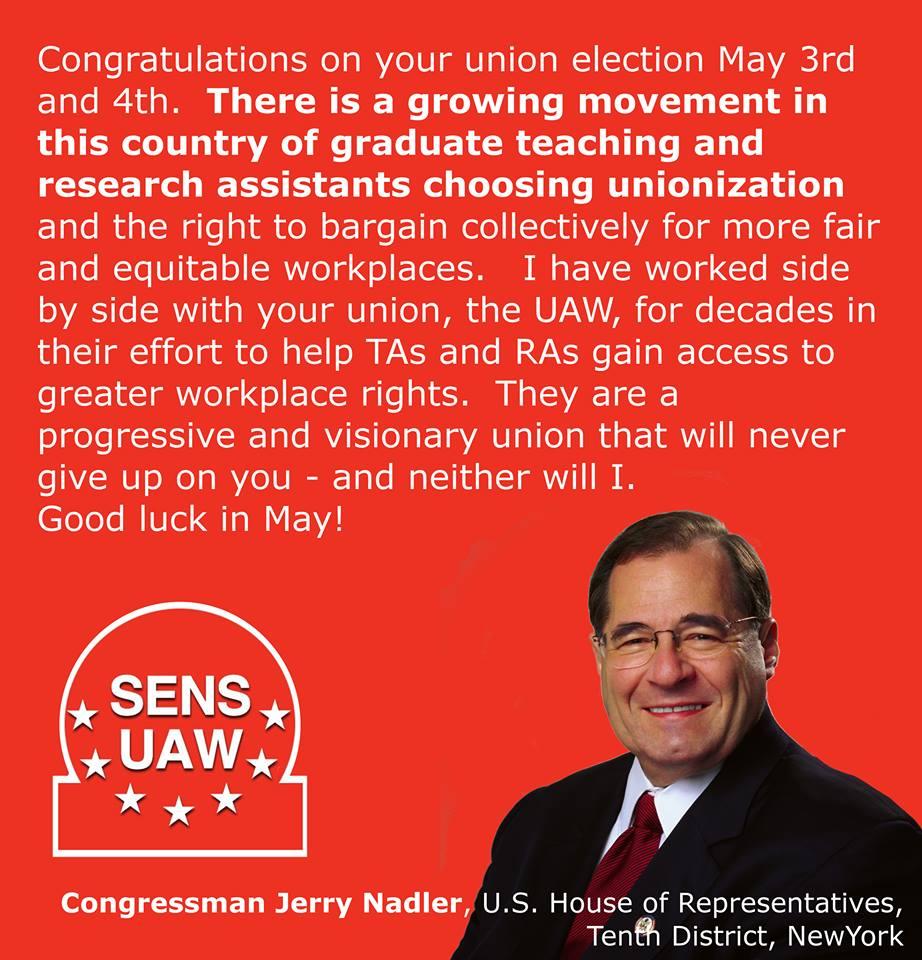 Jerry Nadler Endorsement